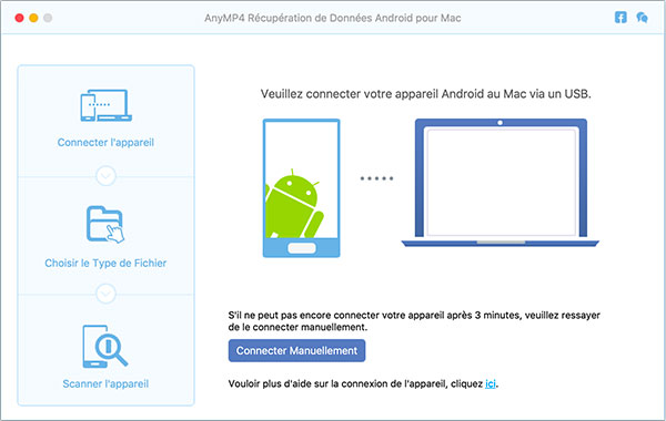 Connecter Android au Mac