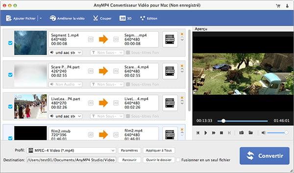 Convertisseur vid o pour mac convertir vid o sur mac rapidement - Logiciel couper video mac ...