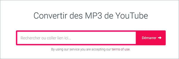 Convertir un clip YouTube en MP3 en ligne