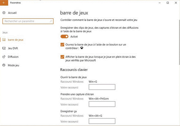 Enregistrer des parties LoL sur Windows