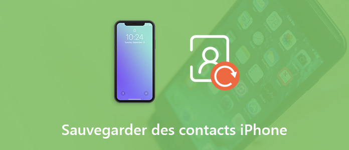 Sauvegarder les contacts iPhone