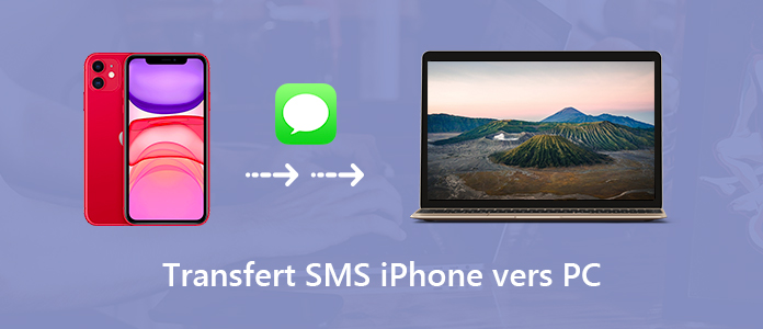 Transférer des SMS iPhone vers PC