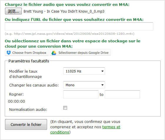 Les 4 meilleurs sites gratuits de convertir mp3 en ligne - Couper un fichier audio en ligne ...